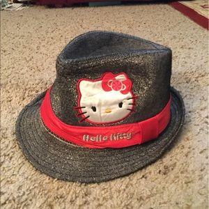HELLO KITTY GIRLS FEDORA HAT, NWOT